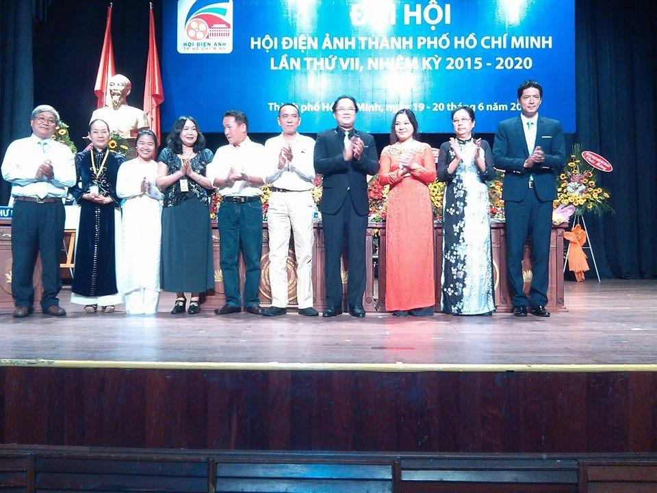Ban Chấp hành Hội Điện ảnh TP.HCM tại Đại hội nhiệm kỳ VII (2015 - 2020)