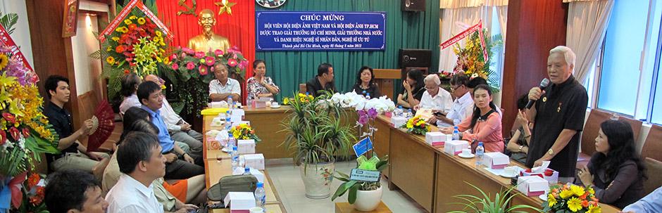 Chúc mừng các hội viên được trao giải thưởng Hồ Chí Minh, giải thưởng Nhà nước và danh hiệu NSND, NSƯT