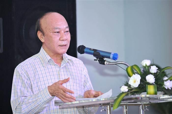 """PGS.TS. Trần Luân Kim phát biệu tại Hội thảo """"Chất lượng phim truyện truyền hình - thực trạng và giải pháp"""""""